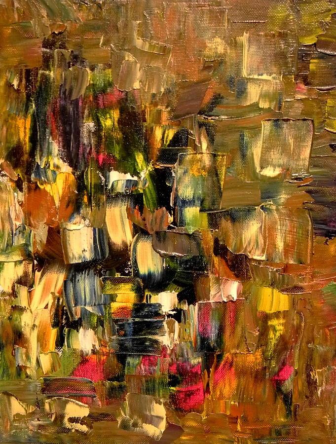 Manhattan Painting - Manhattan At Dawn by Sue McElligott