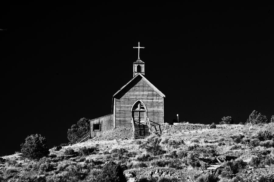 Church Photograph - Manhattan Church by Cat Connor