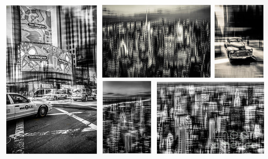 Nyc Photograph - Manhattan Collection I by Hannes Cmarits
