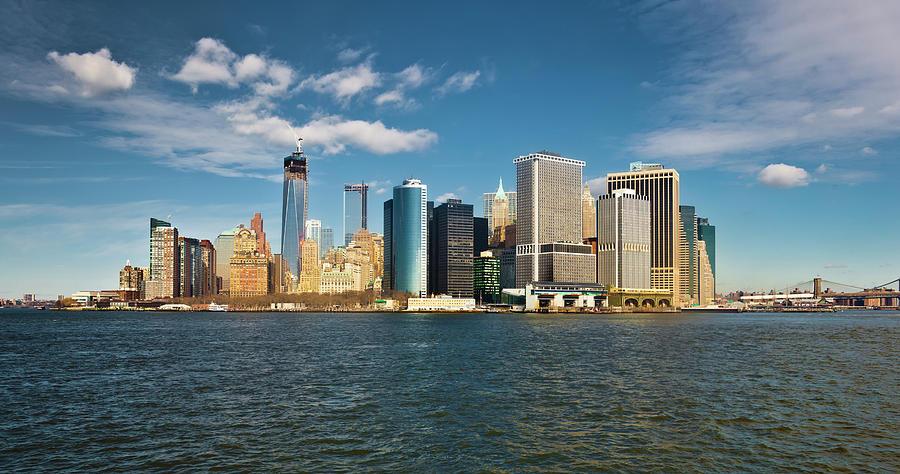 Manhattan Financial District Photograph by Guvendemir