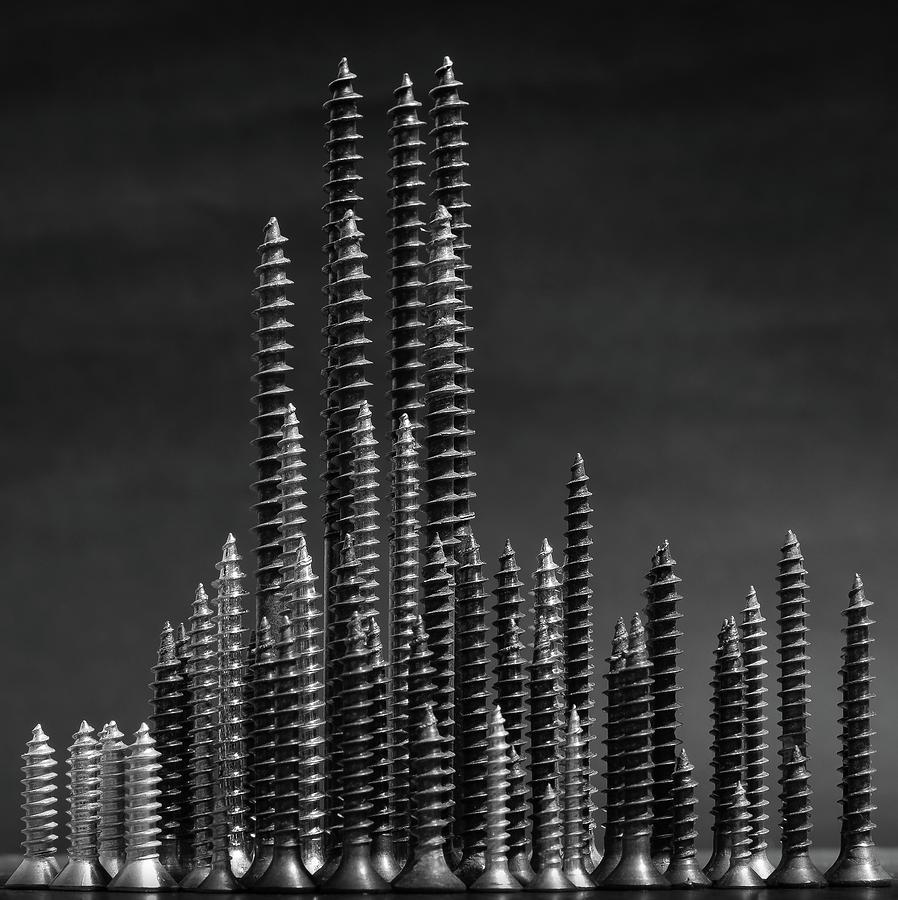 Nail Photograph - Manhattan by Giorgio Toniolo