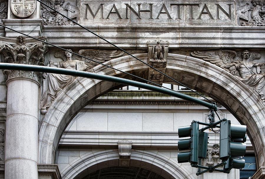 Manhattan Photograph - Manhattan by Joanna Madloch