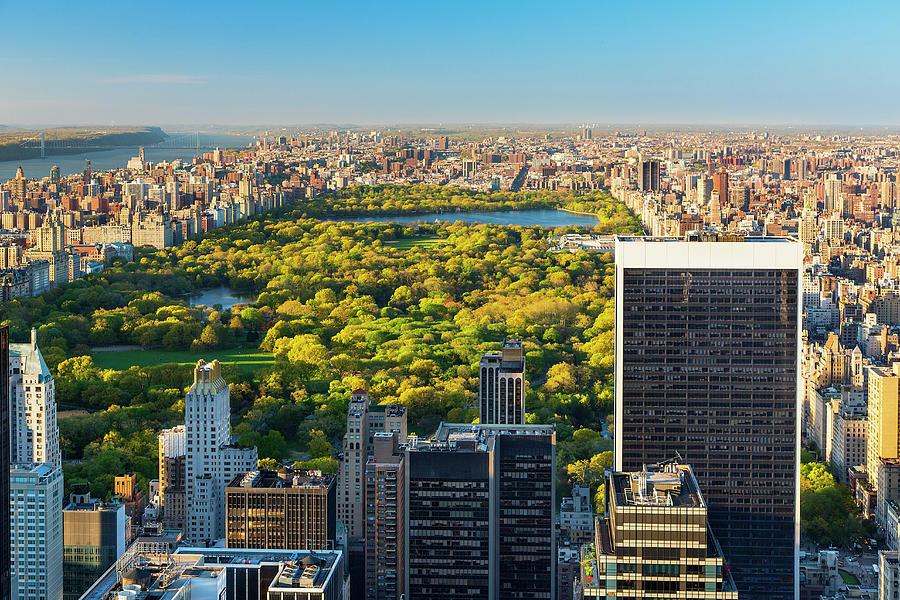Manhattan New York City Skyline Central Photograph by Sylvain Sonnet