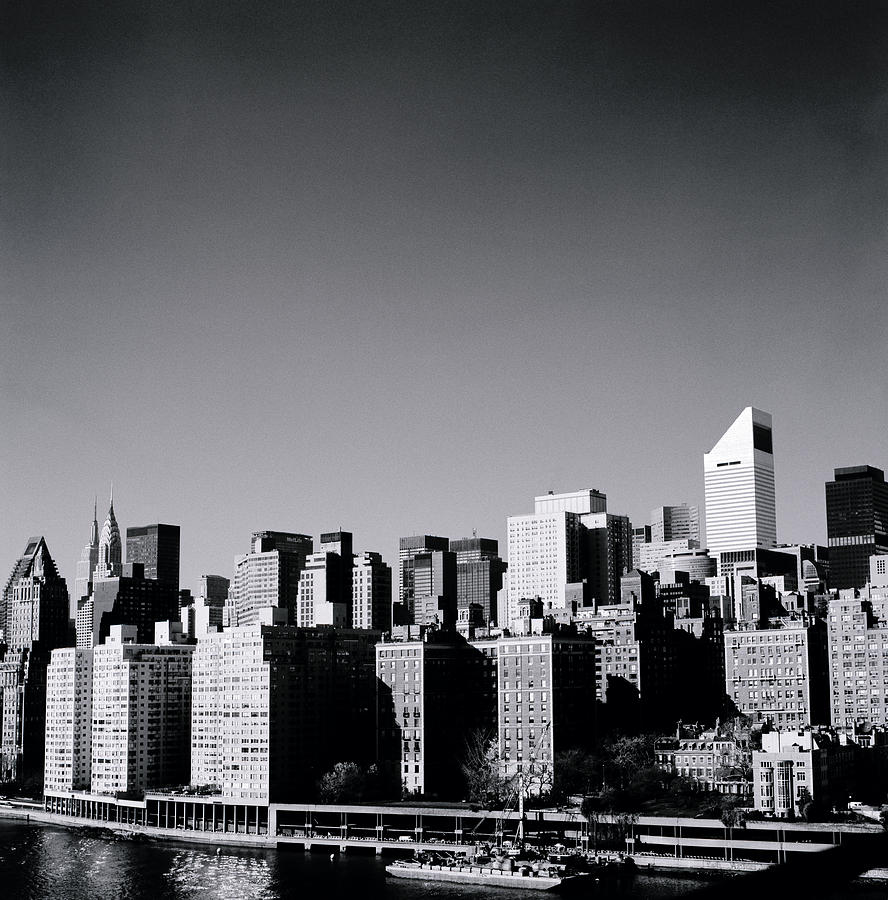 New York Photograph - Manhattan by Shaun Higson