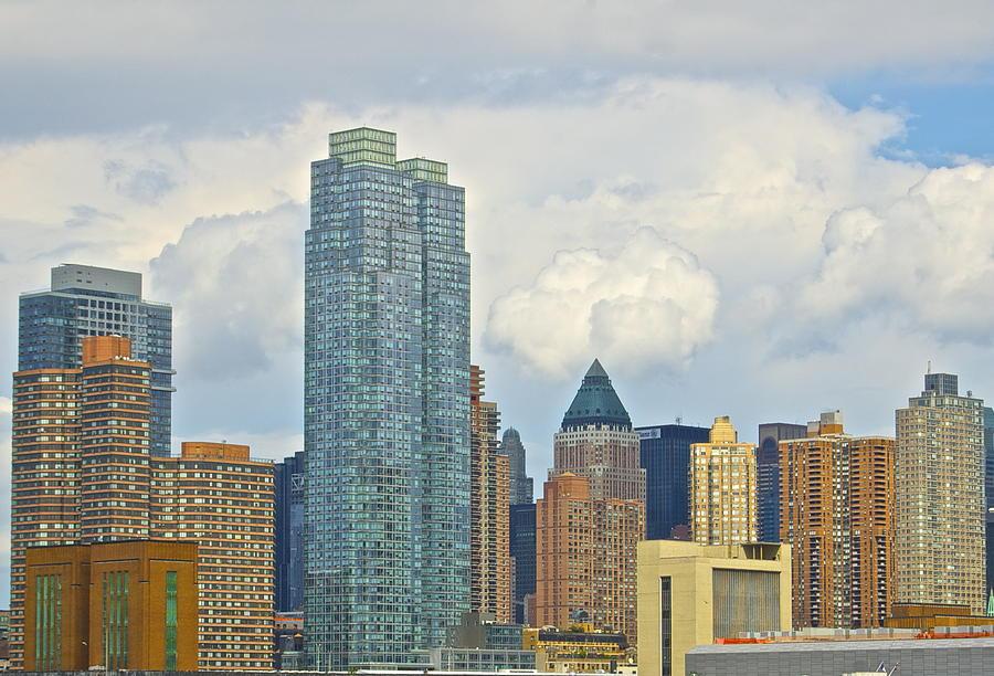 Newyork Photograph - Manhattan Skyline II by Galexa Ch