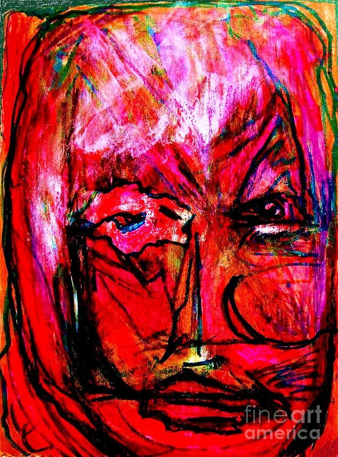 Manic Depressive Painting by Darlyne Sax