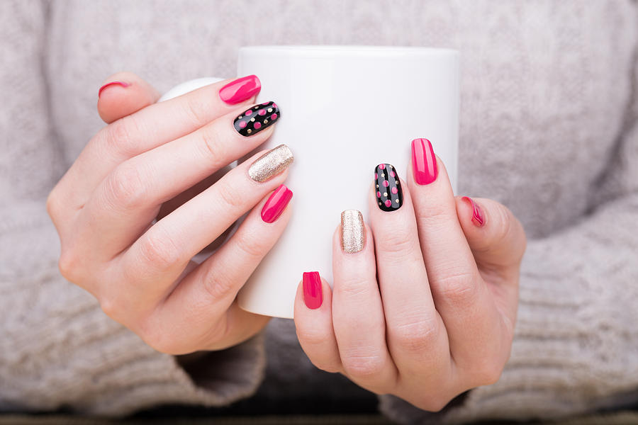 Manicure Photograph by Flufi