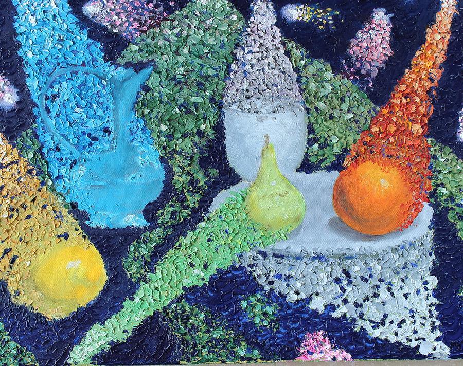 Manifestation Painting by Margarita Gokun