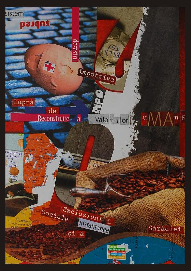 Collage Photograph - Manifesto Against Social Exclusion by Mira C