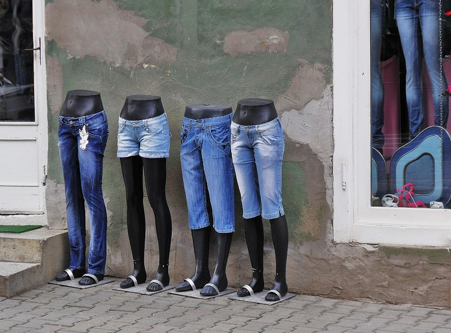 Mannequin Photograph - Mannequins In Draculas City by Ion vincent DAnu