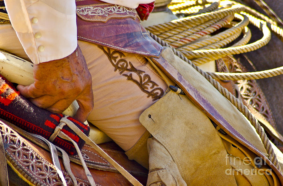 Mexico Photograph - Mano y Montura by Kristine Celorio