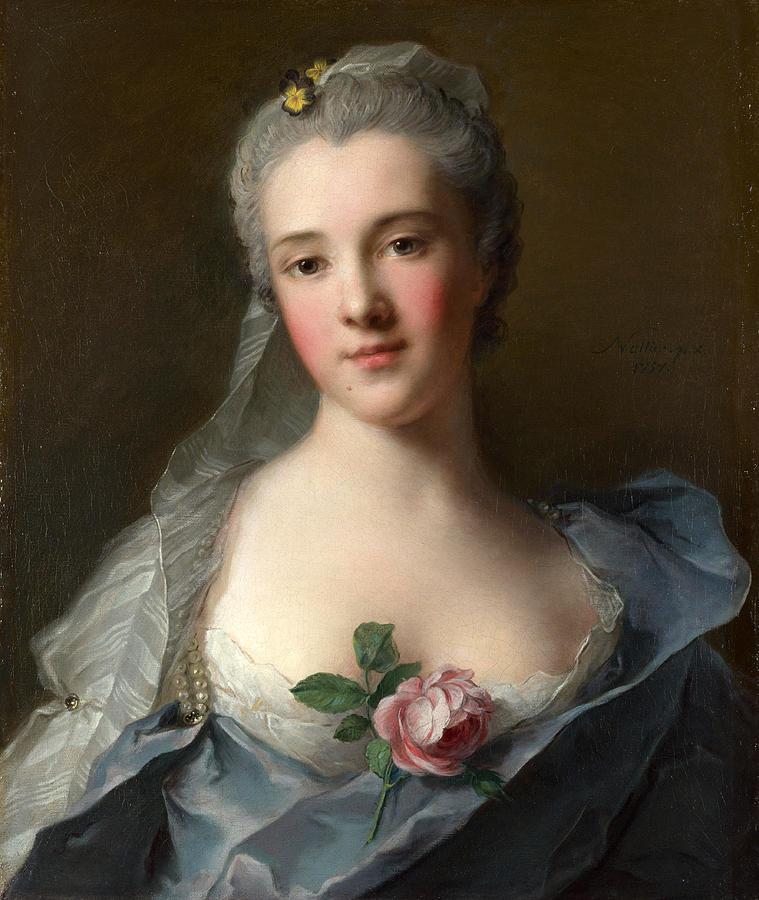 Le conservatoire du portrait du dix huitieme siecle - CPDHS Manon-balletti-jean-marc-nattier