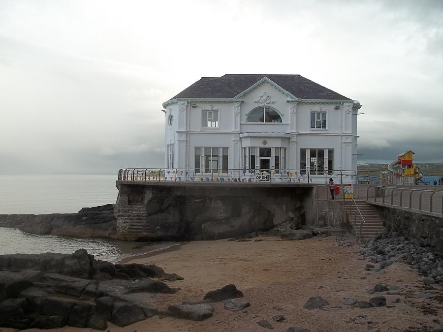 Northern Ireland Photograph - Mansion By The Sea by James Potts