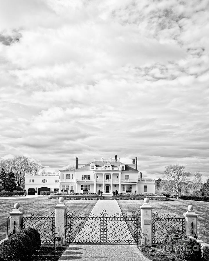 New Hamphire Photograph - Mansion Rye New Hampshire Open Edition by Edward Fielding