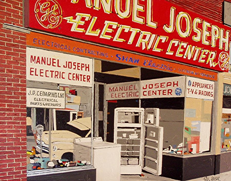 Sacramento Painting - Manuel Joseph by Paul Guyer