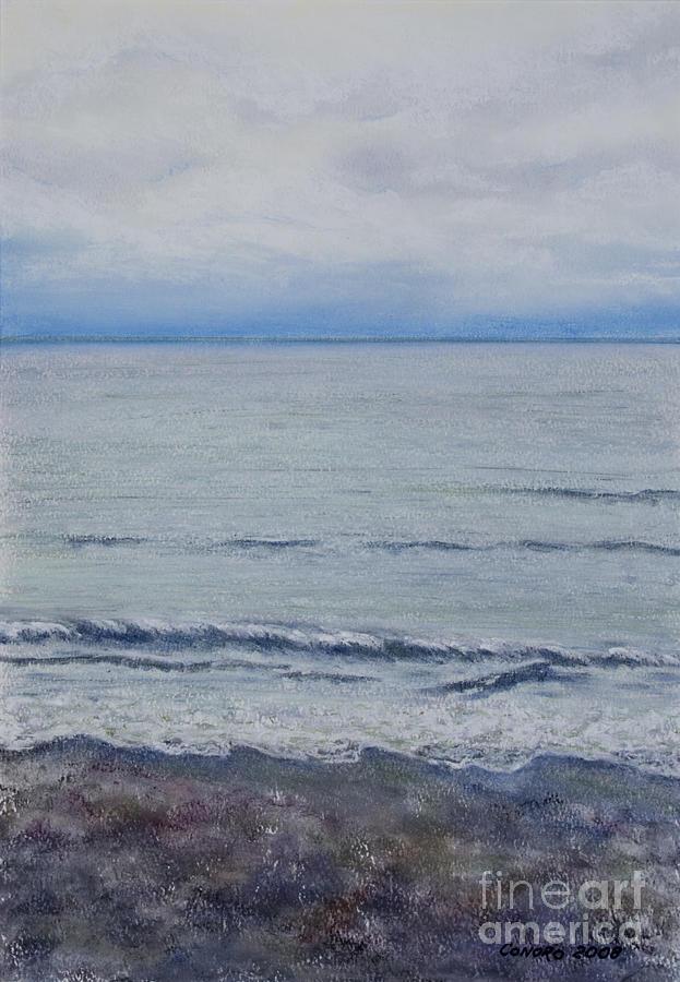 Seascape Painting - Manx Mist by Stanza Widen