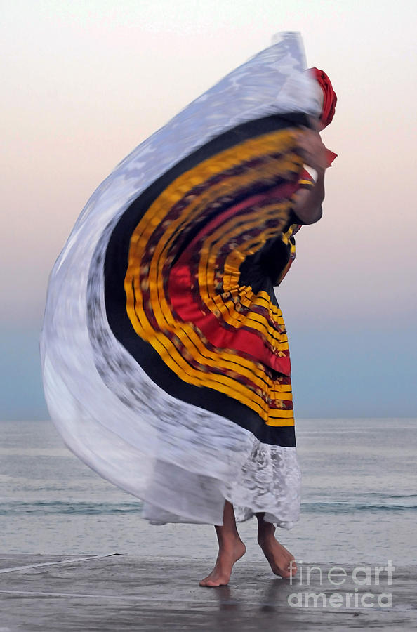 Dance Photograph - Many Colors by Dan Holm