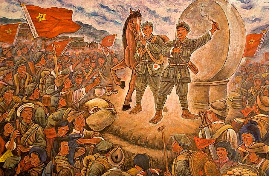 Màu Cờ Việt Nam Maos-long-march-dennis-cox-chinastock