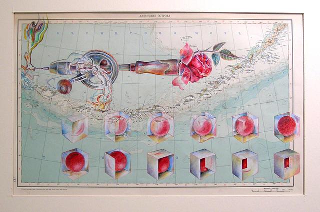 Map Seventeen Elaine by Dennis Murphy