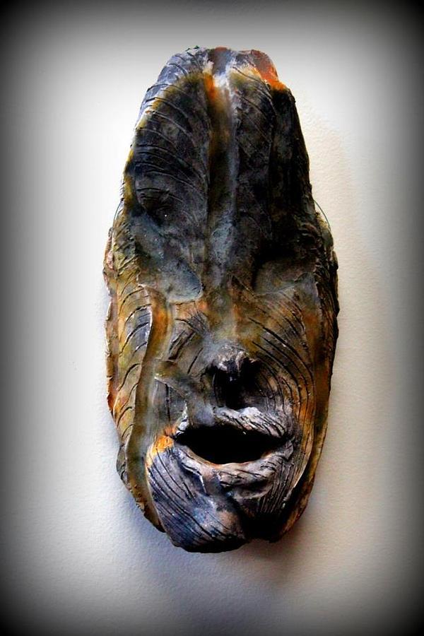 Maralah- Born During A Earth Quake Ceramic Art by Wynter Peguero