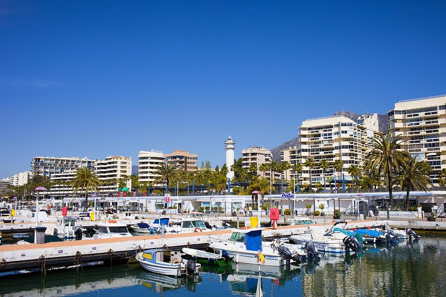 Marbella Photograph - Marbella Marina In Spain by Artur Bogacki