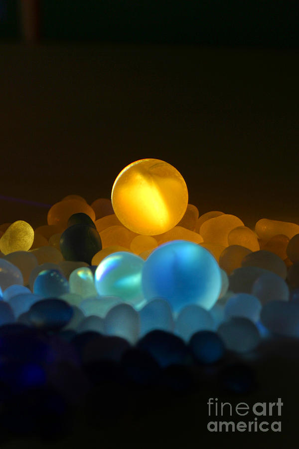 Light Photograph - Marble-3 by Tad Kanazaki