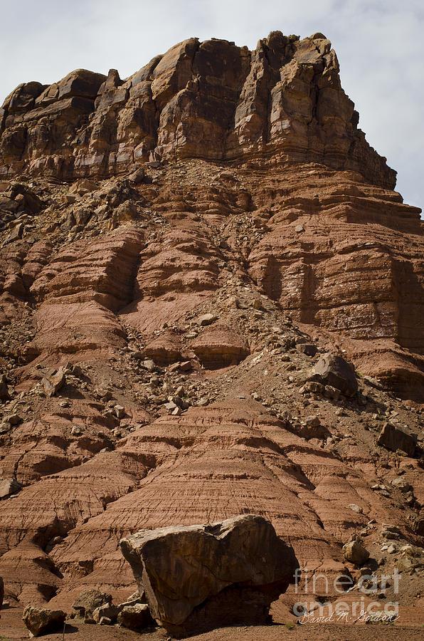 Marble Photograph - Marble Canyon Vi by Dave Gordon