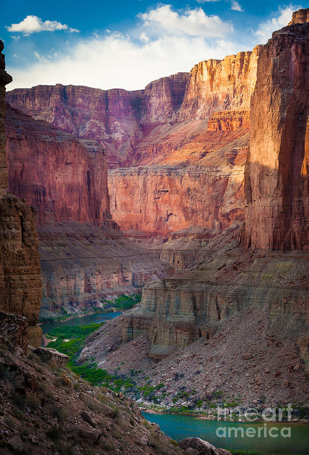 America Photograph - Marble Cliffs by Inge Johnsson