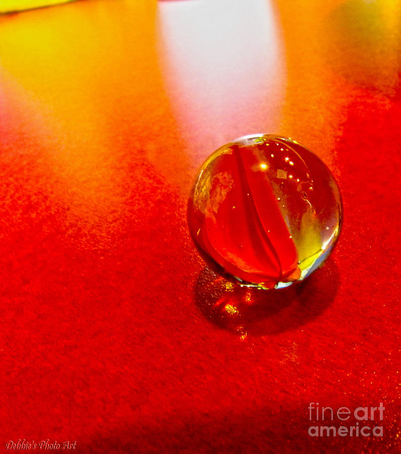 Still Life Photograph - Marble Shine by Debbie Portwood
