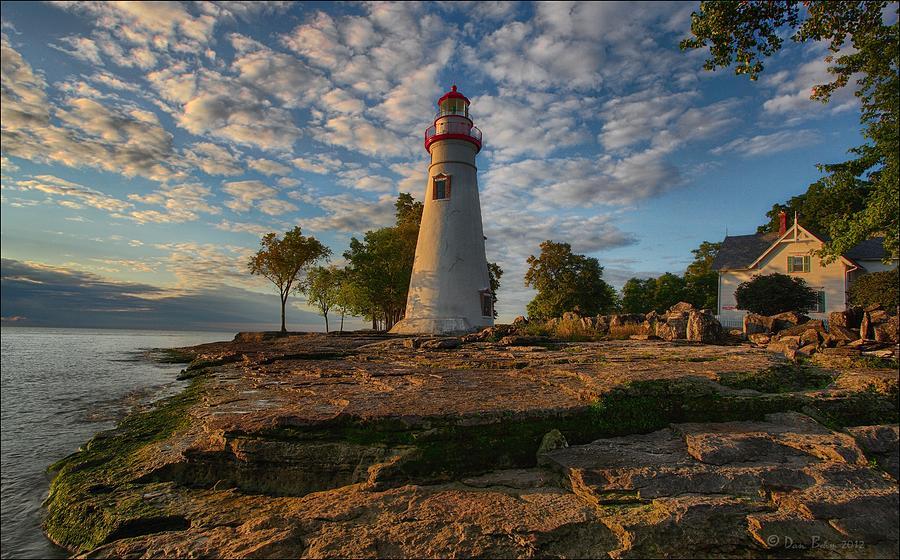 Marblehead Lighthouse Photograph - Marblehead Lighthouse by Daniel Behm