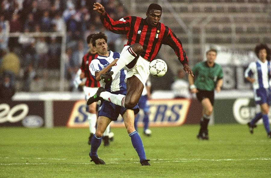Marcel Desailly of AC Milan Photograph by Gary M. Prior