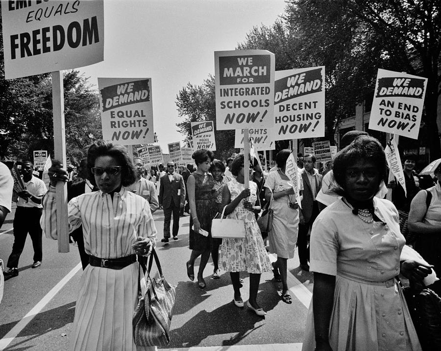 Civil Rights Photograph - March For Equality by Benjamin Yeager