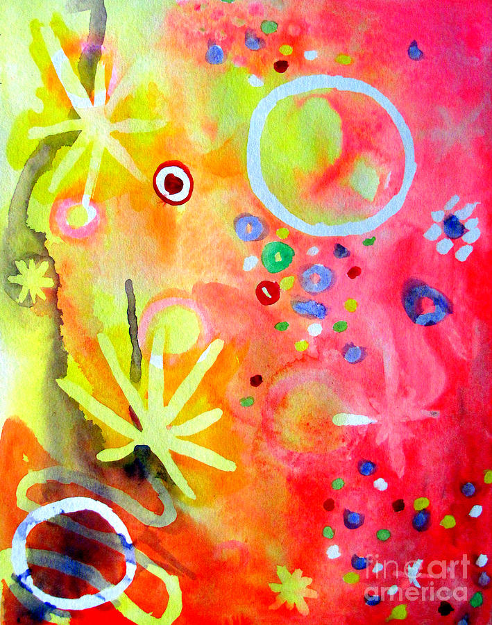 Abstract Painting - Marcia Marcia Marcia by William Bryant