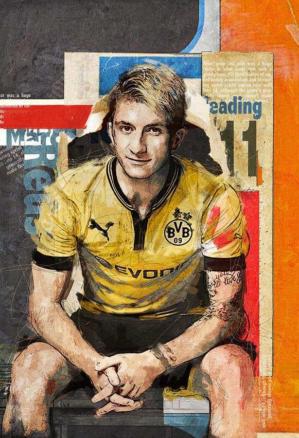 Marco Reus Painting - Marco Reus by Corporate Art Task Force