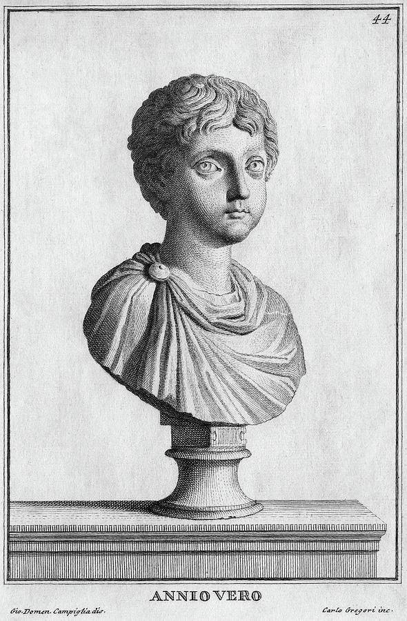 1st Century Painting - Marcus Annius Verus by Granger