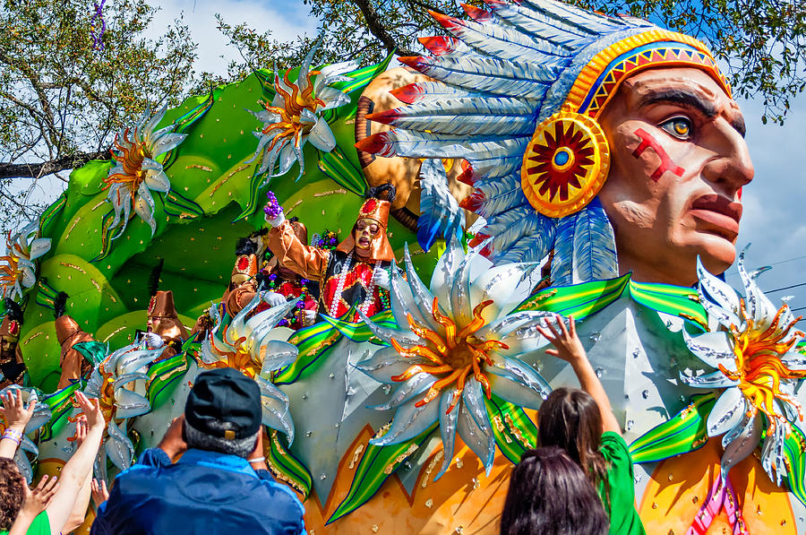 Mardi Gras Madness Photograph