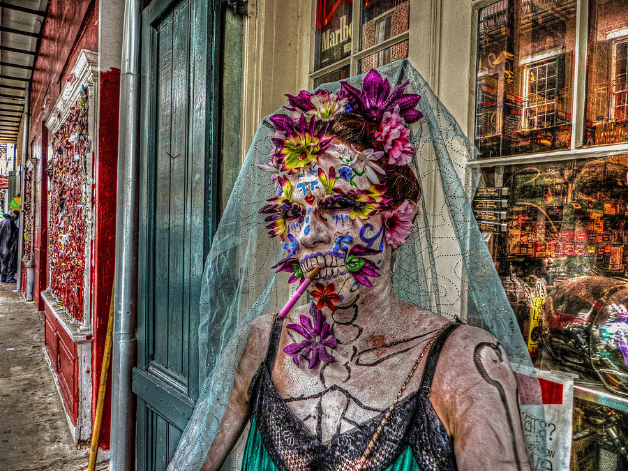 Mardi Gras Photograph - Mardi Gras Voodoo In New Orleans 2 by Louis Maistros