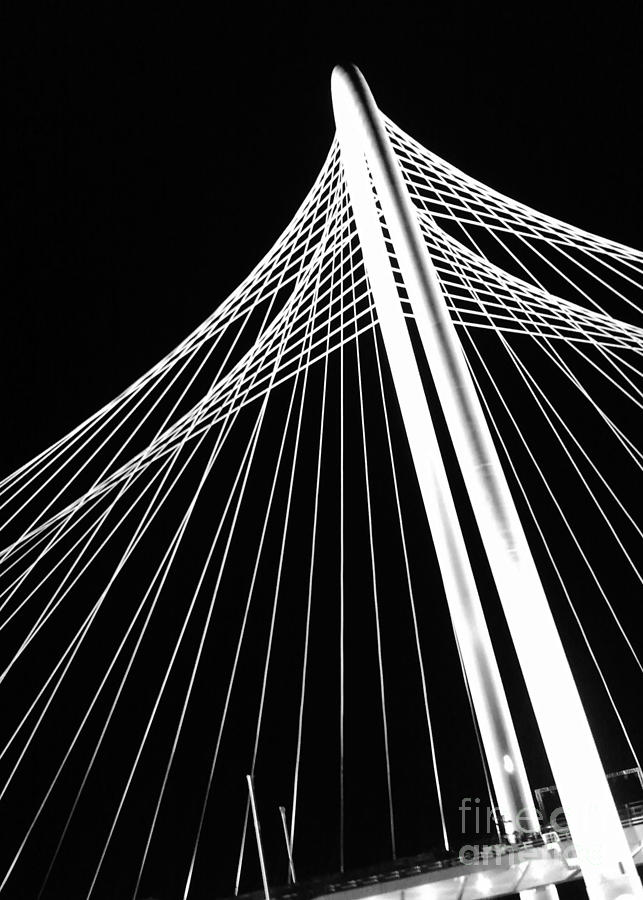 Margaret Hunt Hill Bridge Photograph - Margaret Hunt Hill Bridge by Cheryl McClure