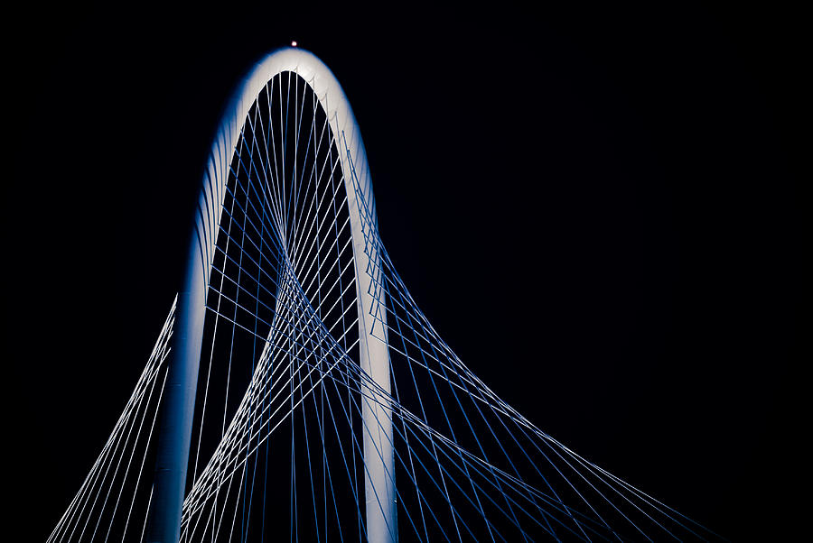 Abstract Photograph - Margaret Hunt Hill Bridge by Darryl Dalton