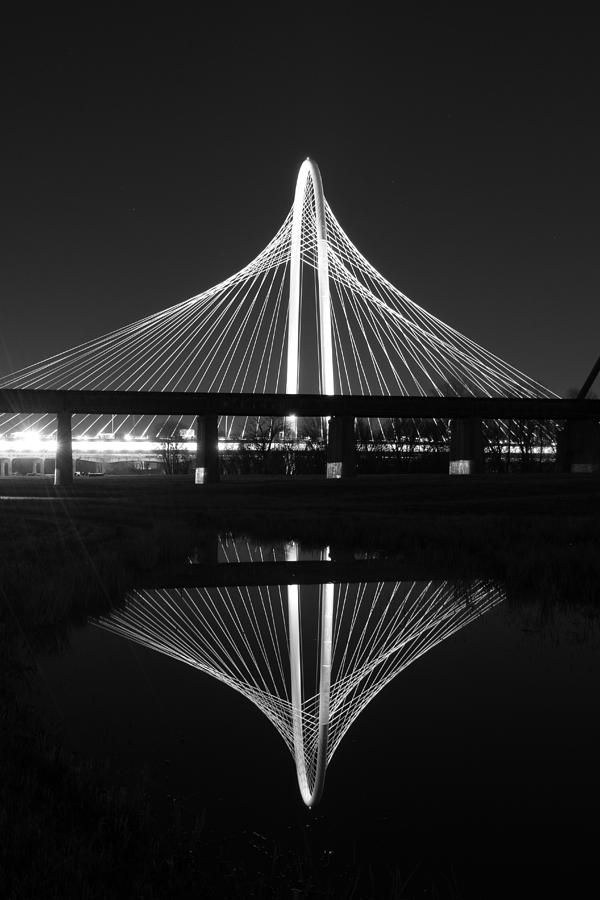 Margaret Hunt Hill Bridge Photograph - Margaret Hunt Hill Bridge Reflection by Jonathan Davison