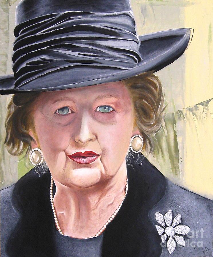Portrait Painting - Margaret by Martin Davis