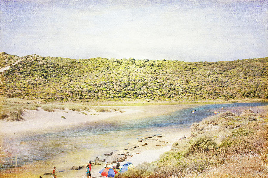 Margaret River Photograph - Margaret Rivermouth In Western Australia by Elaine Teague