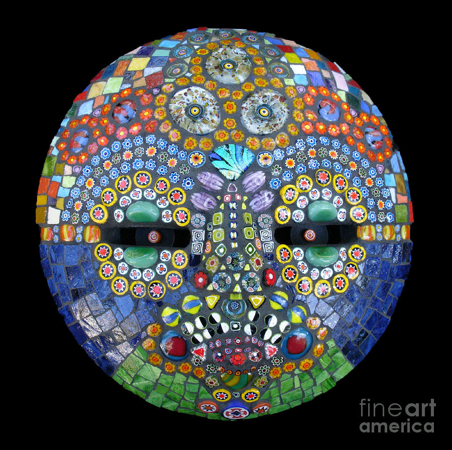 Millefiori Photograph - Marge by Valerie Fuqua
