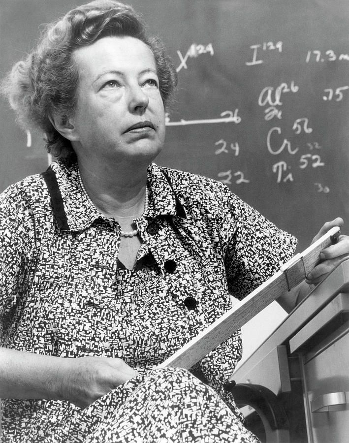 People Photograph - Maria Goeppert-mayer by Us Department Of Energy