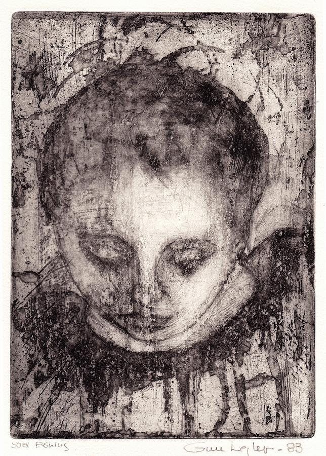 Woman Drawing - Maria by Gun Legler