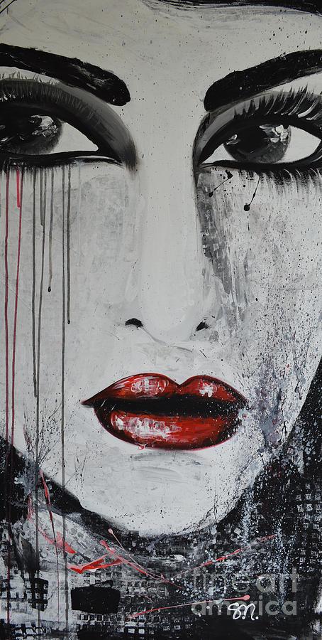 Maria Painting - Maria Kalogeropoulou by Maria Sopoglidou