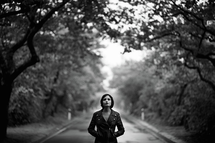 Road Photograph - Maria by Rui Caria