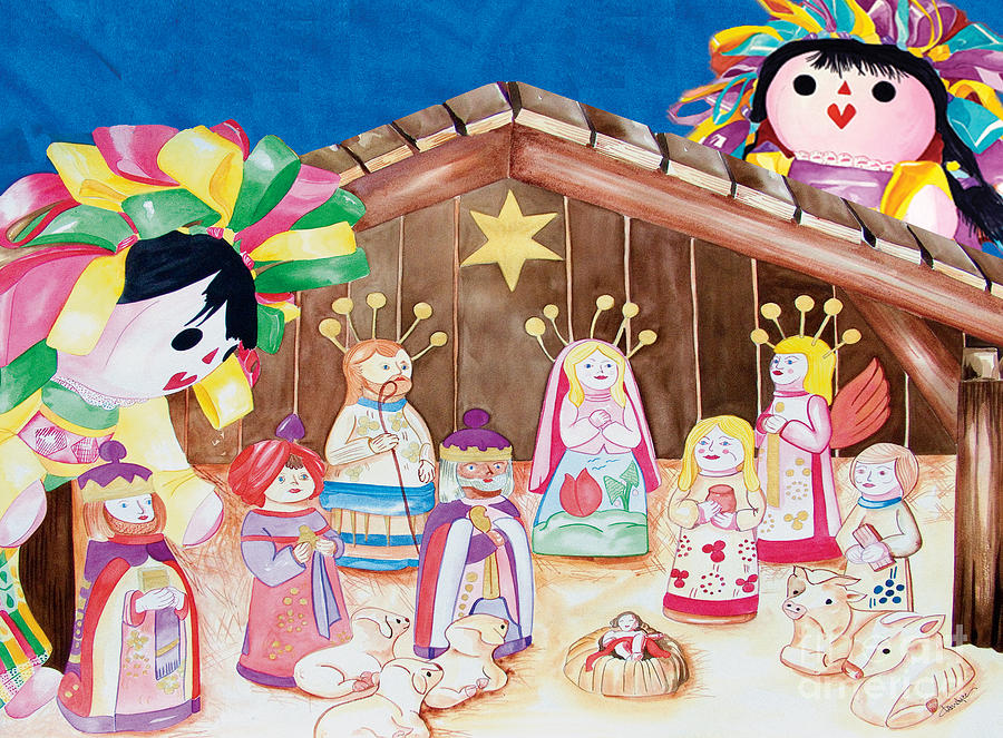 Maria Sofia and The Nativity by Kandyce Waltensperger