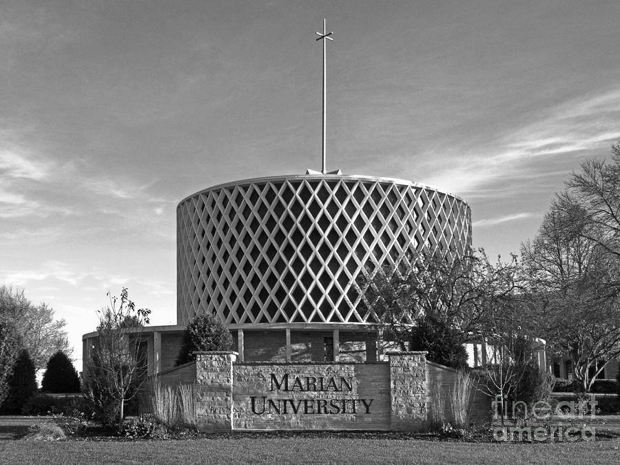 Dorcas Chapel Photograph - Marian University Dorcas Chapel by University Icons