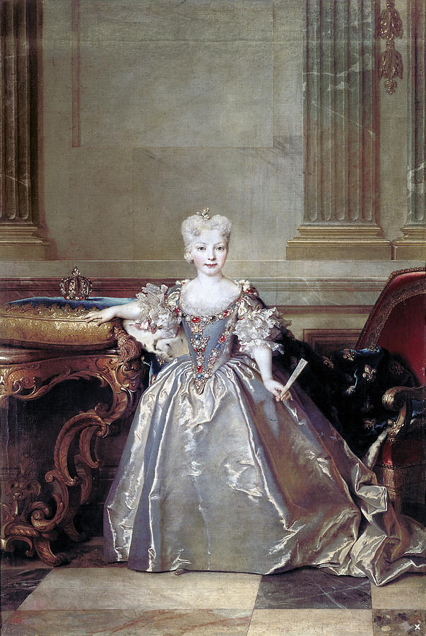Carousel Collection Painting - Mariana Victoria Of Spain (1718-1781) by Granger